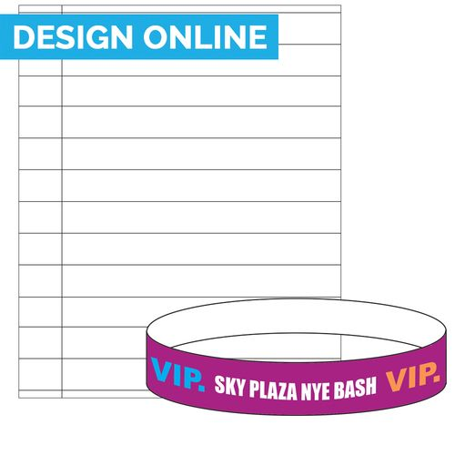 graphic about Printable Wristband Sheets referred to as Preserve your upcoming occasion prepared with printable wristband