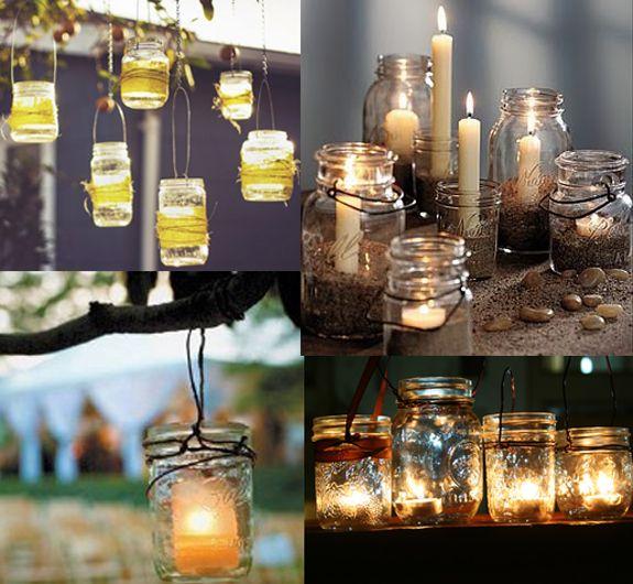 Mason Jar Centerpiece Ideas