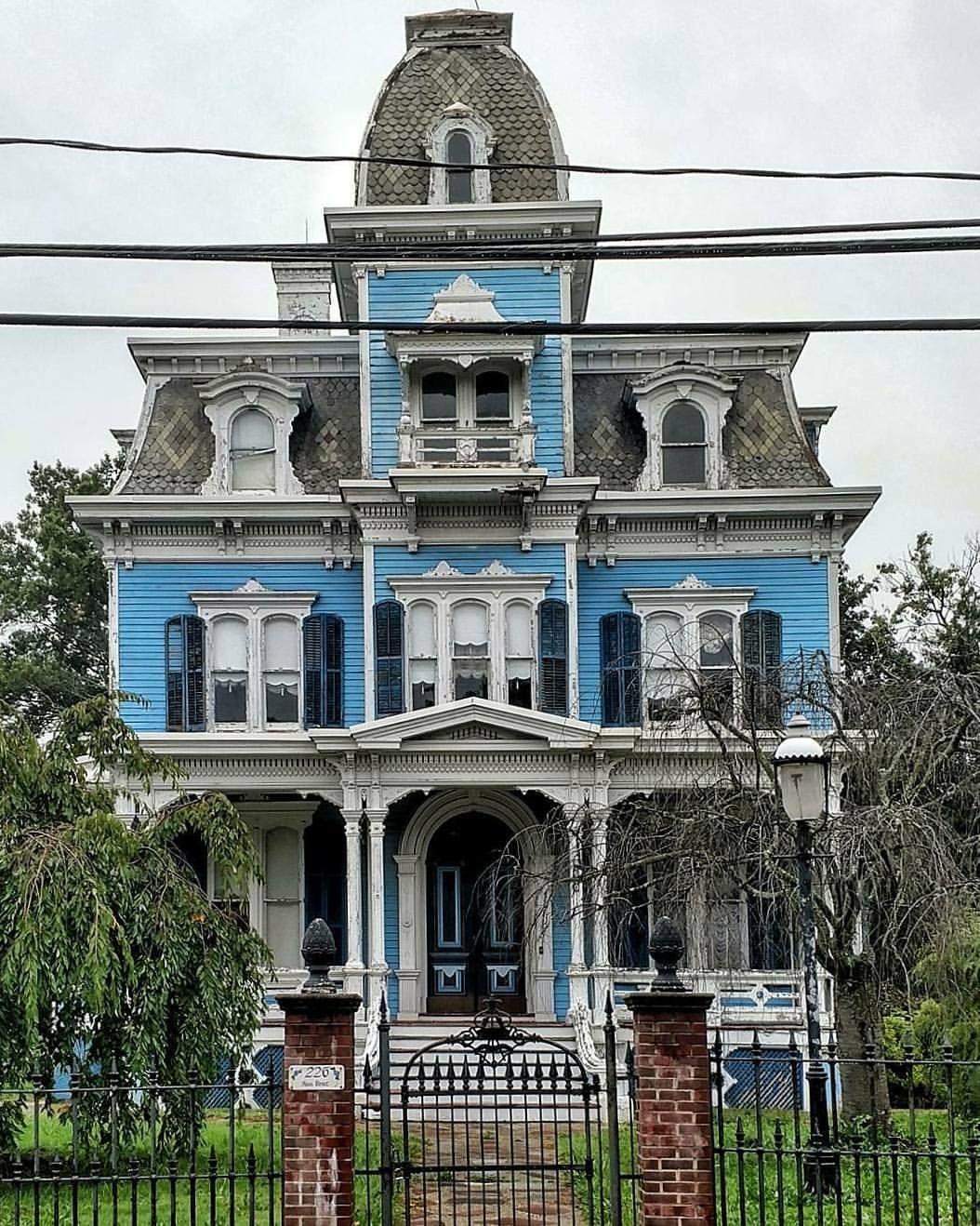 Matawan Nj Victorian Homes Gothic House Victorian Style Homes