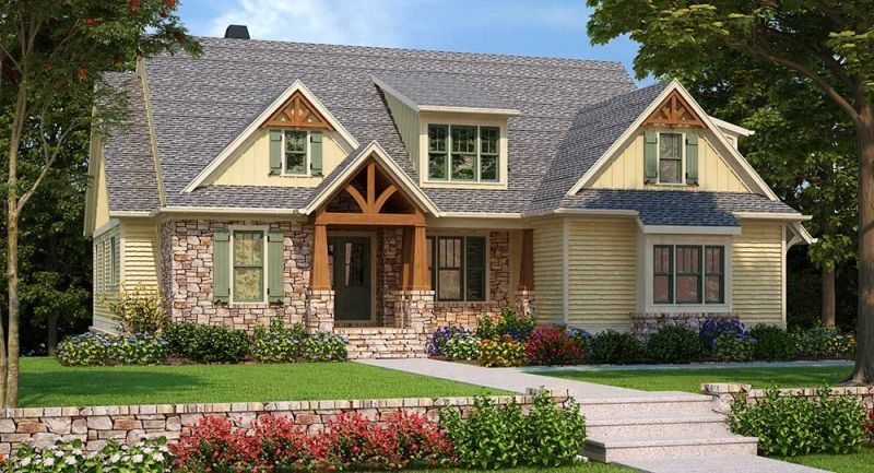 Embry Hills Plan From Frank Betz Associates Craftsman House Plans Craftsman House Country Style House Plans