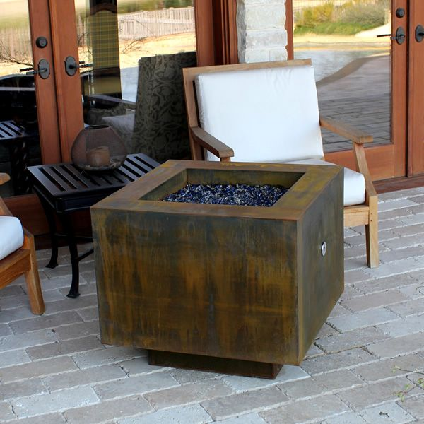 Bentintoshape 30 Square Fire Pit Hidden Tank With Images
