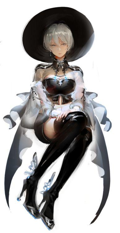 witch [4]| illak [pi…@院长爱妹子采集到oo(181图)_花瓣插画/漫画