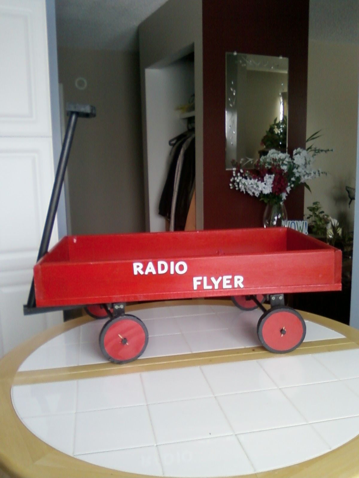 Home made Radio Flyer red wagon. Radio flyer, Red wagon