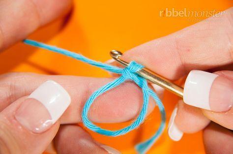 Fadenring Häkeln Magischer Ring Flexibler Ring Häkeln
