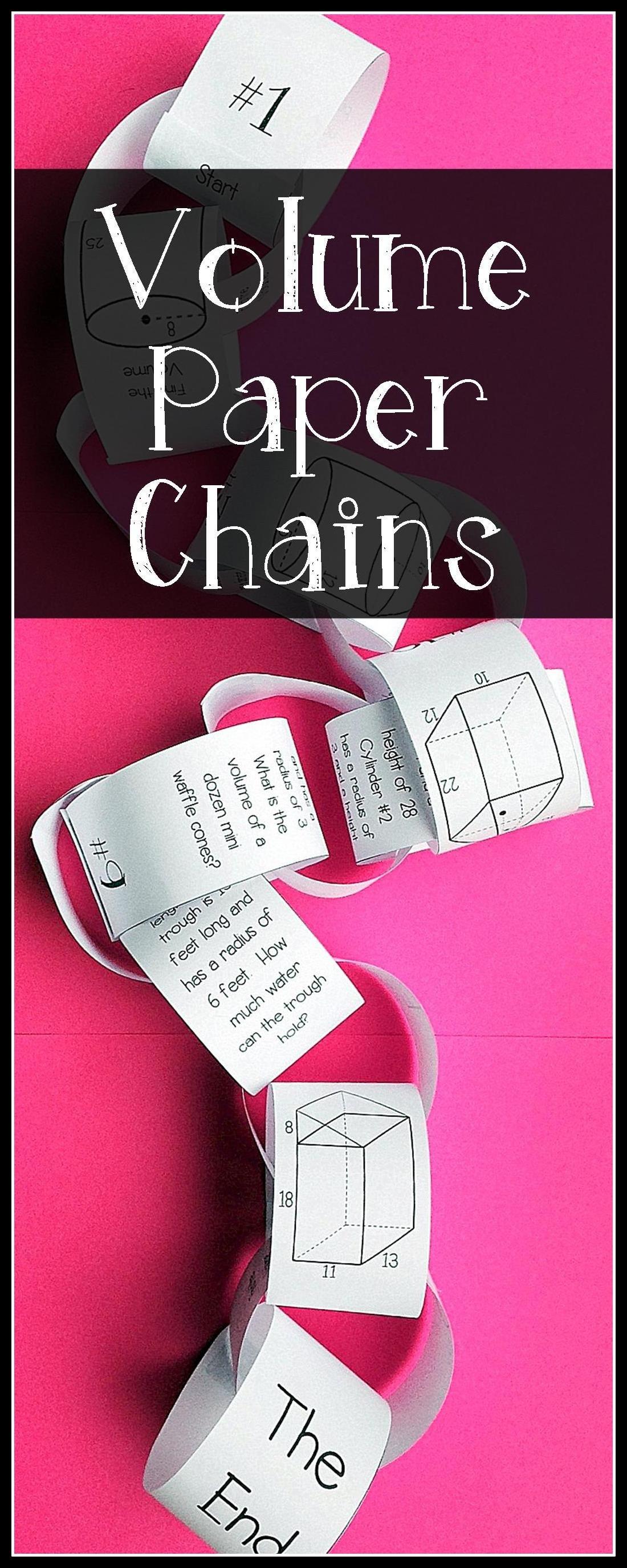 Volume Chains Activity
