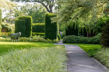 AN ARTFUL GARDEN WITH SCULPTURE Location Nutley New Jersey US