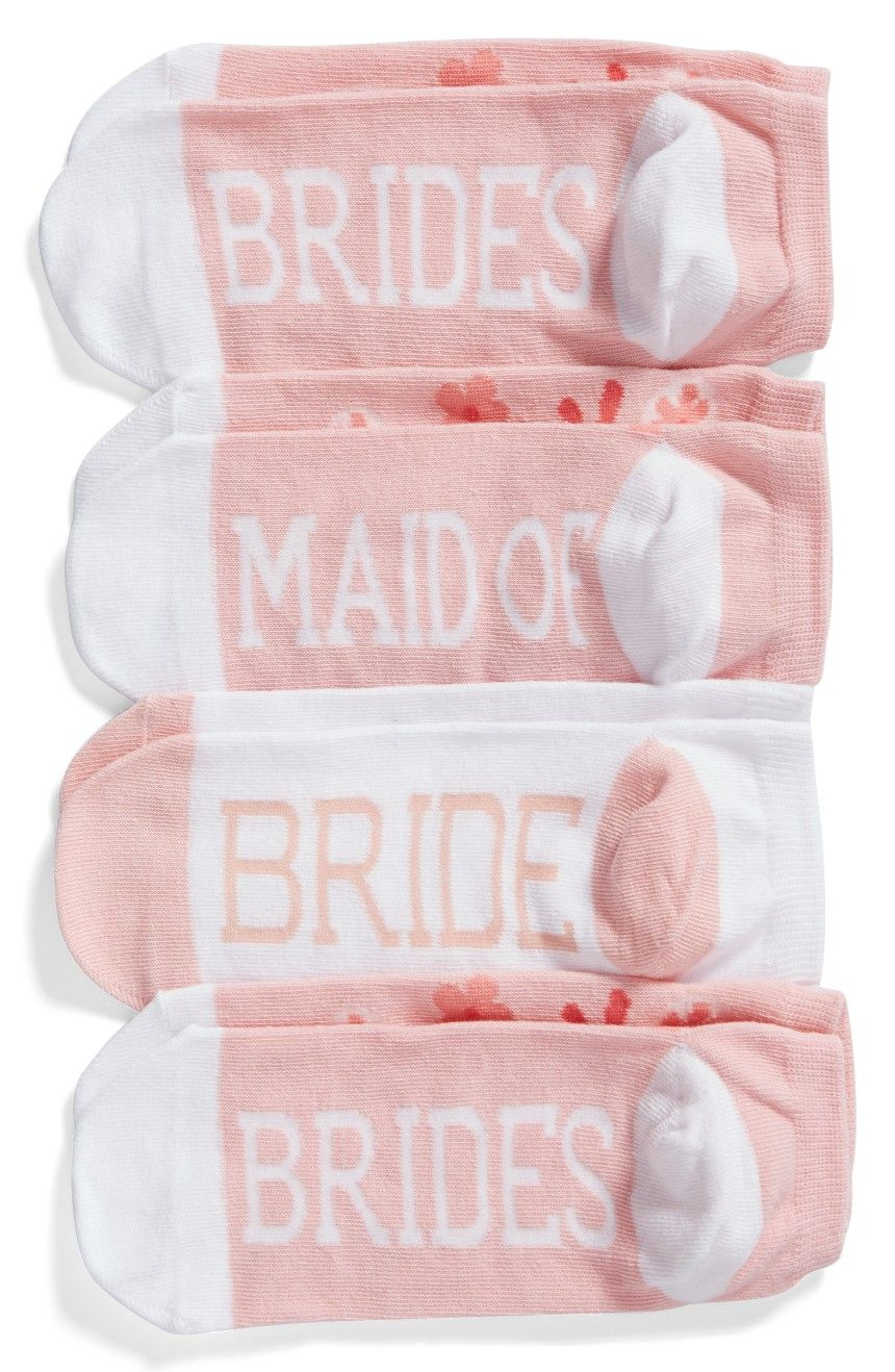 Socks for the whole wedding party!!   Bridal Party Gift Idea ...