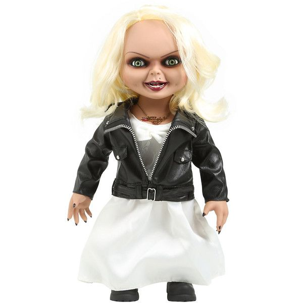Bride Of Chucky Tiffany Talking Replica Doll Hot Topic 83 Liked On Polyvore Featuring Costumes Bab Bride Of Chucky Halloween Bride Costumes Bride Costume
