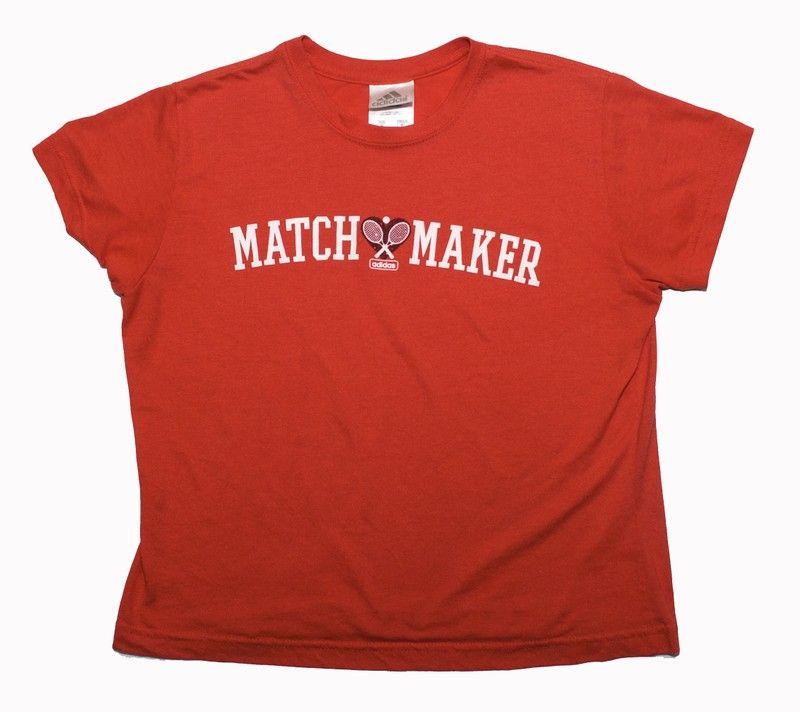 Women s Adidas Tennis T Shirt Match Maker Size Medium - Women s Adidas  Tennis T Shirt Match 394e26fb19