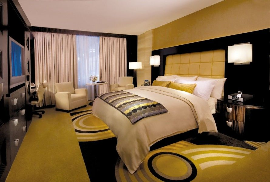 Hotel Bedroom Designs:personable Glamorous Photos Of Bedroom Pictures And  Hotel Room And Yellow Color Walls With White Bed And Pillows And Quilts  Plus Bed ...