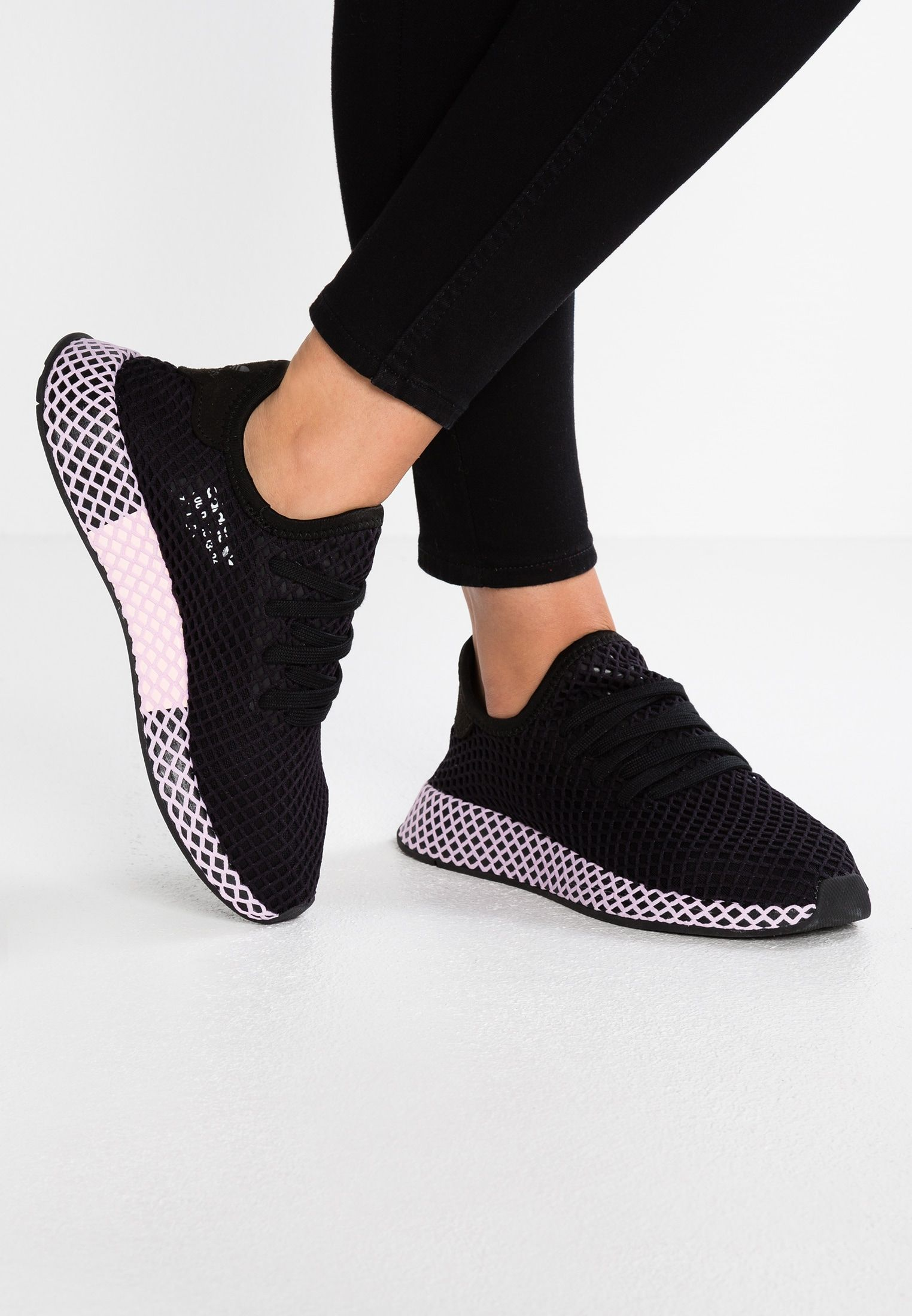 adidas Originals DEERUPT - Baskets basses - core black/clear ...