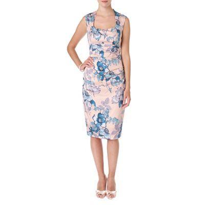 Phase Eight Multi-coloured rapunzel print dress-   Debenhams ...
