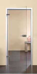 Clear Glass Frameless Doors   Sliding Also Available