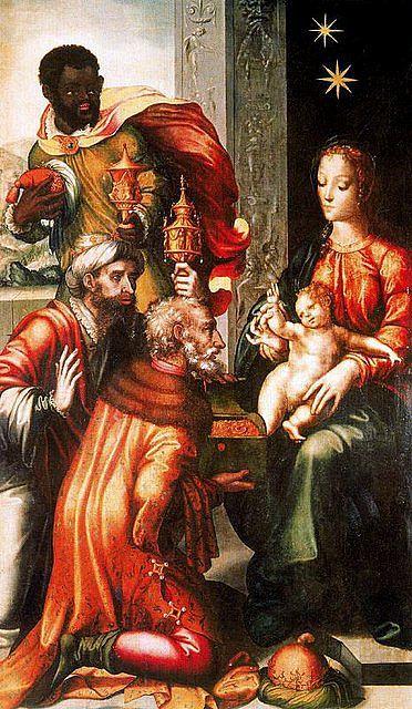 Adoracion De Los Reyes Luis De Morales El Divino Imagenes Celestiales Nacimiento De Jesus Arte