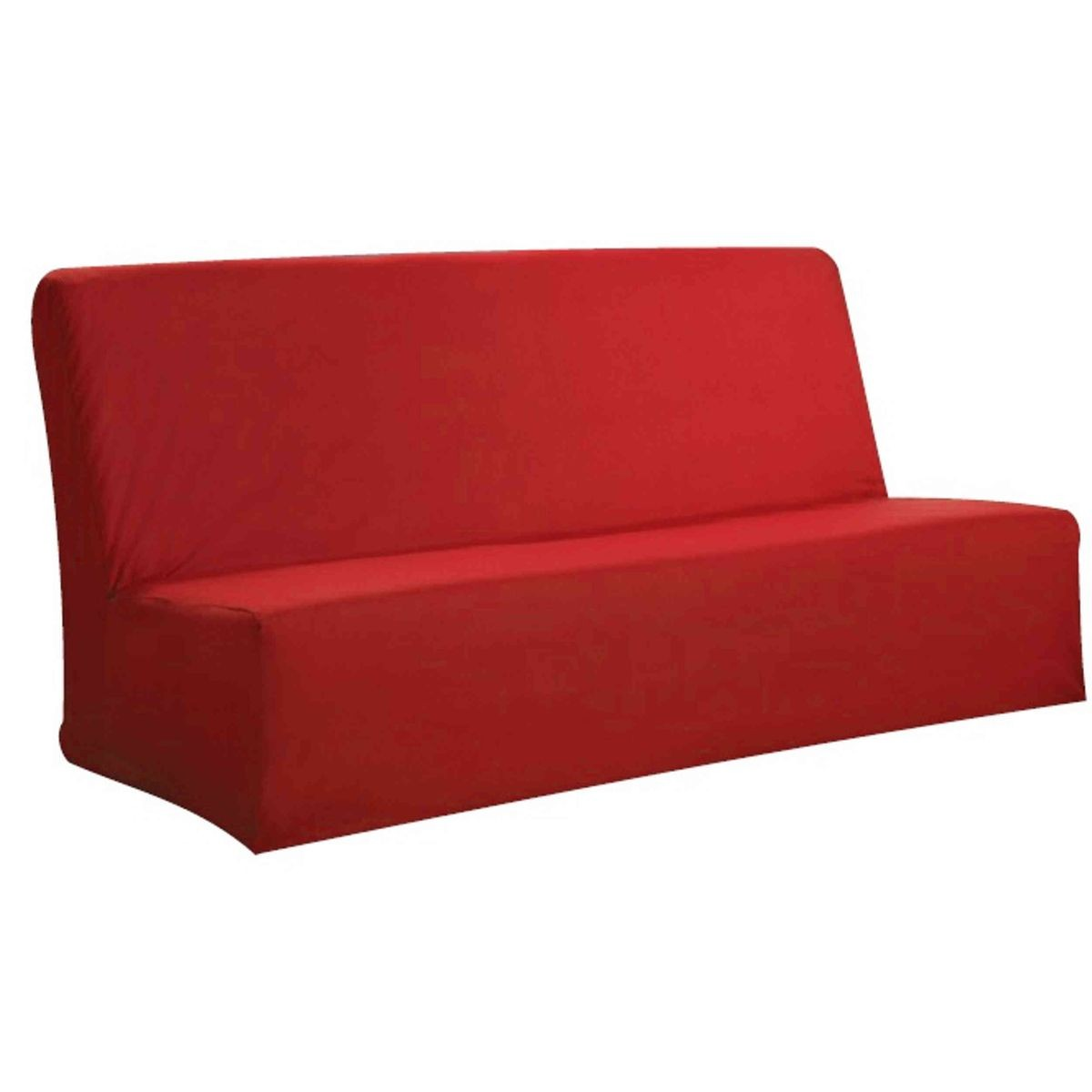 Housse Clic Clac Rouge Taille 140x190 Cm Products