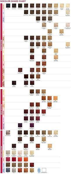 Image result for matrix socolor color chart pdf my life