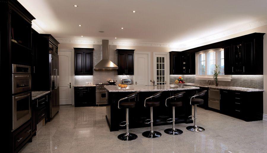 WAC INVISILED Pro App   Dark kitchen cabinets, Modern ...