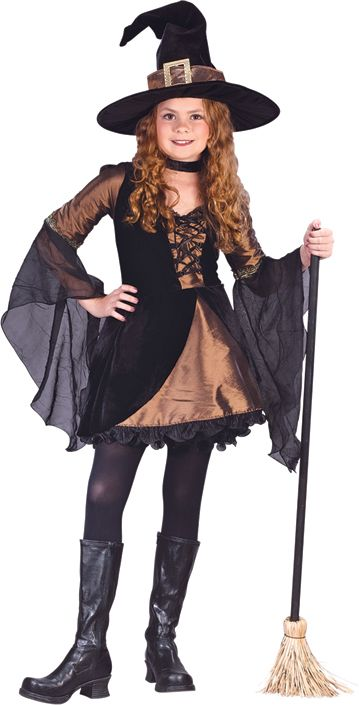 girl teen witch costume
