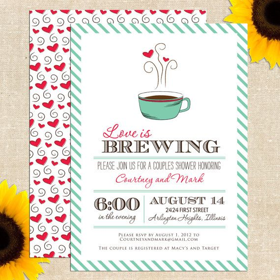 Wedding Invitation Giveaway: Free Printable Bridal Shower Invitation: Giveaway