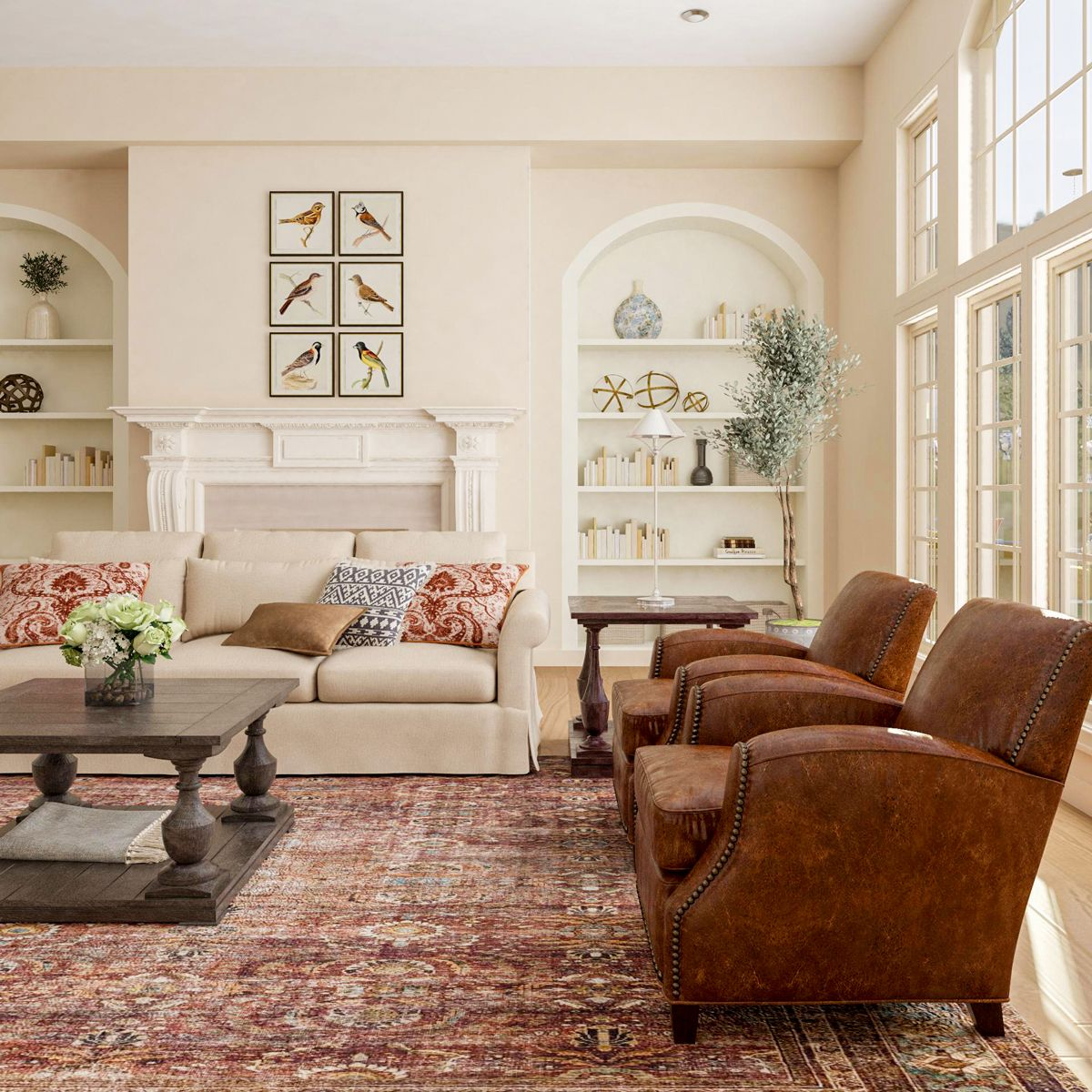 Traditional Comfortable Design Is The New Trend On The Block Modsy Blog In 2021 Traditional Style Living Room Traditional Design Living Room Traditional Living Room