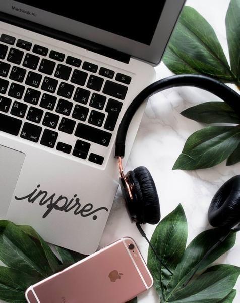 MacBook Palm Rest Decal Spocket App, Laptop Decal, Laptop