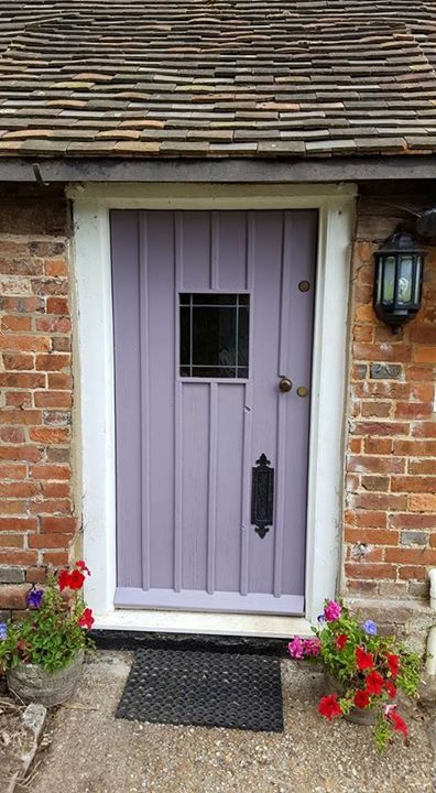 Farrow And Ball Brassica Front Door Click Through For