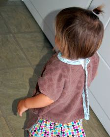 mAde by autie: Guest Blogger mAde by autie {tutorial}: Hand Towel Bib