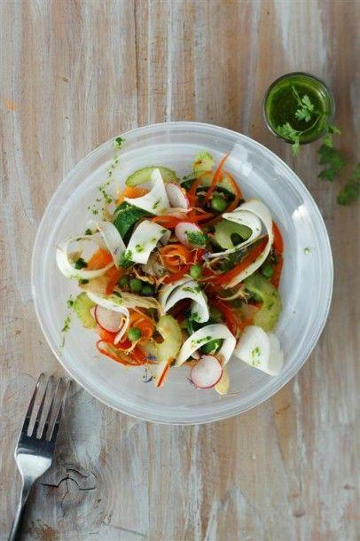 Salade de légumes printanière du Chef Pierre de Zôdio Avignon ! La recette  ici