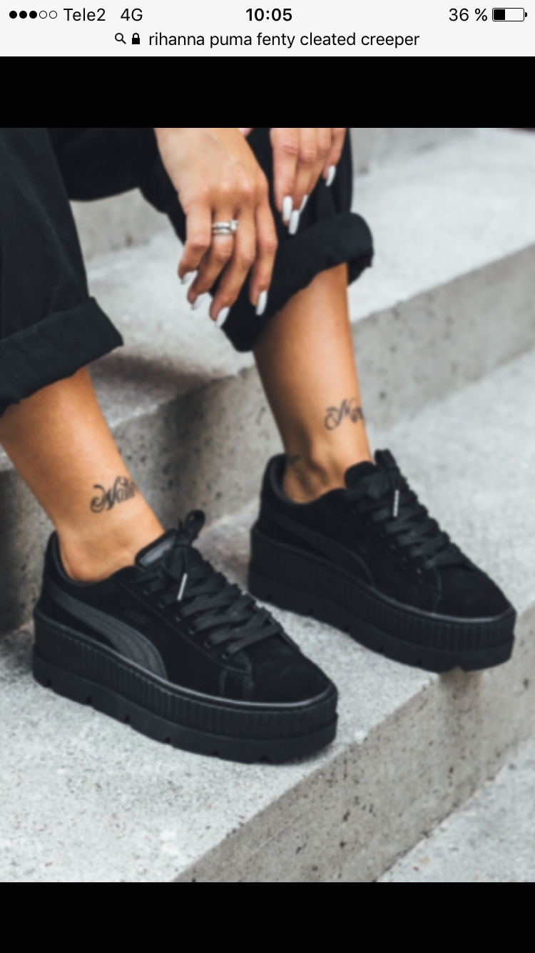 online store 093c0 29460 material love. | Puma Fenty Cleated Creepers | Love these ...