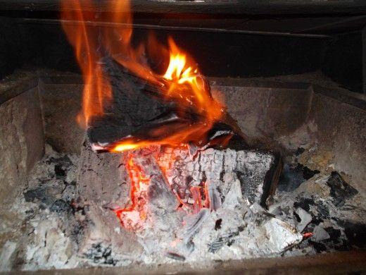 No fire to keep you warm?