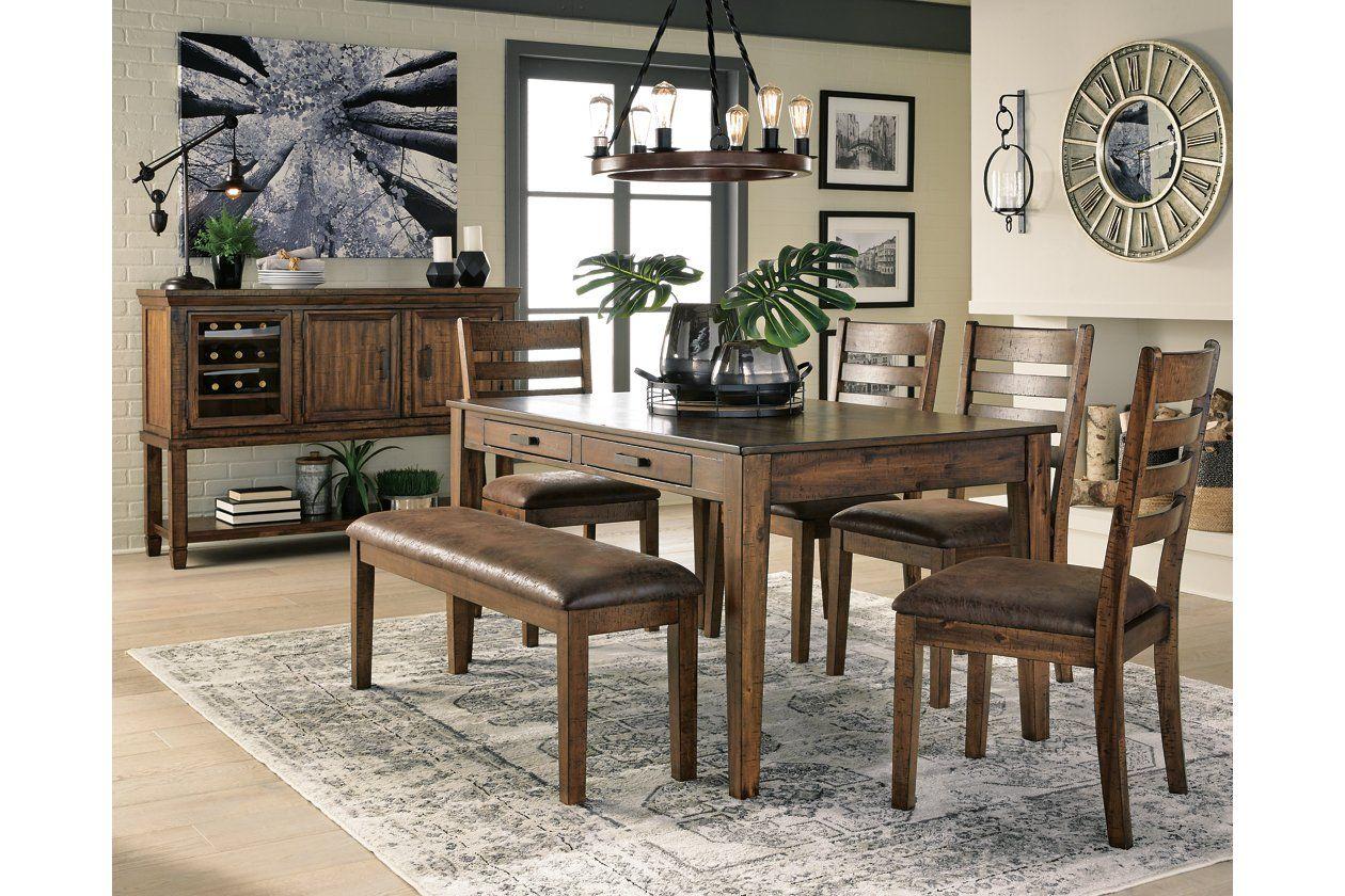 Royard Dining Table Ashley Furniture Homestore Rectangular Dining Room Table Dining Room Table Dining Room Design