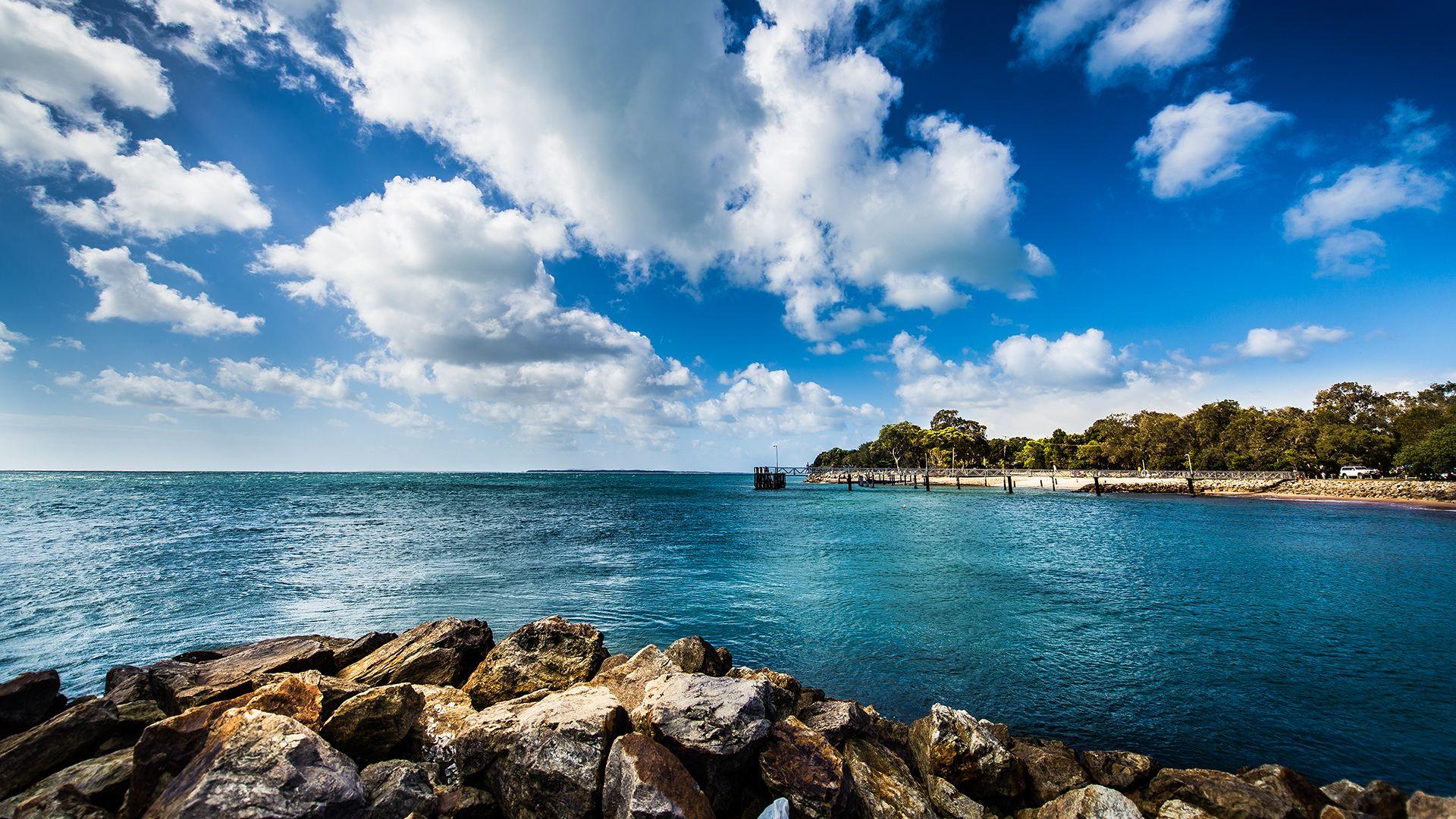 Amity Point, North Stradbroke Island, Queensland, Australia
