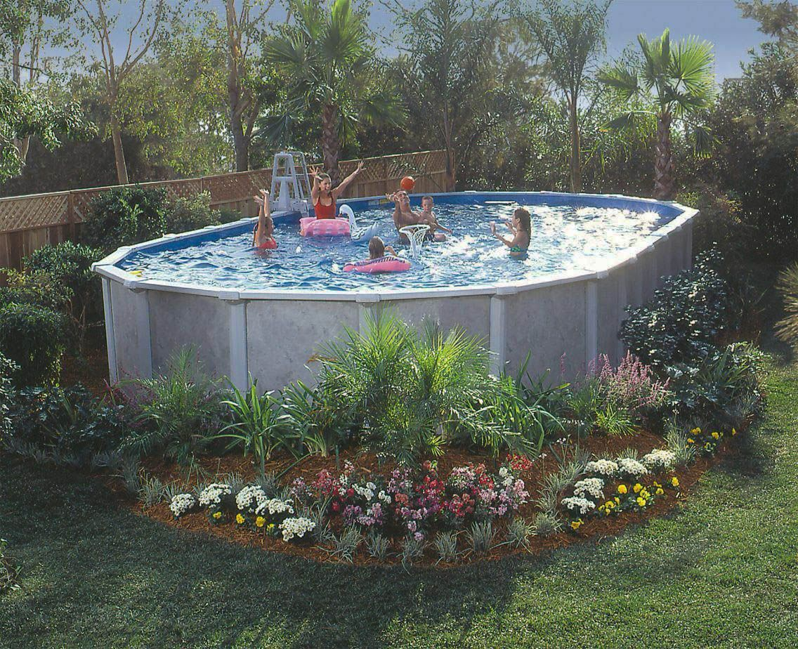 Get Encouraged Above Ground Pool Designs Above Ground Pool