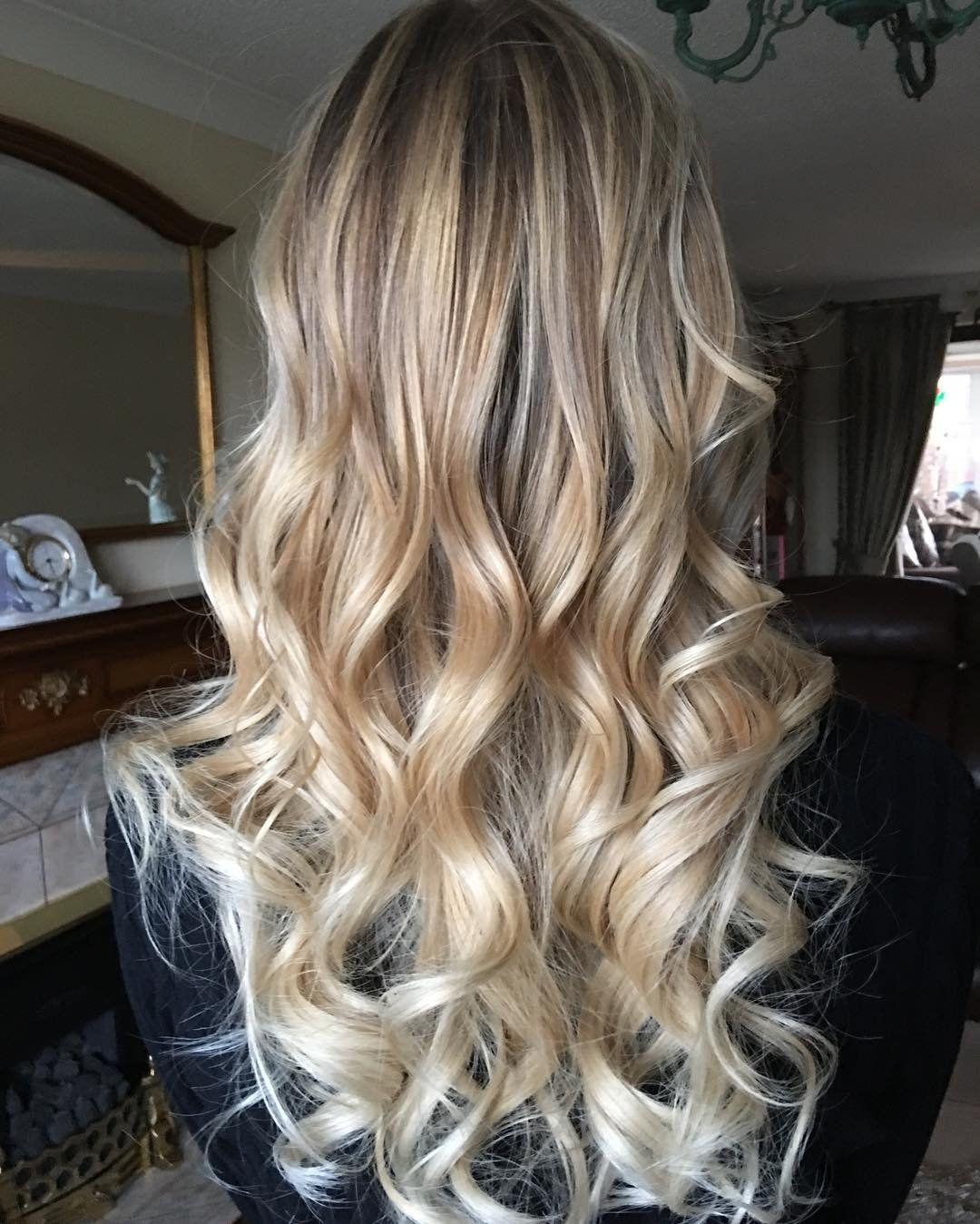 Окрашивание балаяж на светлые волосы (50 фото ...