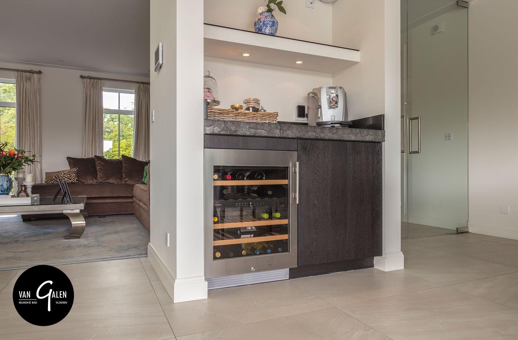 Keuken en bijkeuken geleverd in vught met massief stenen spoelbak