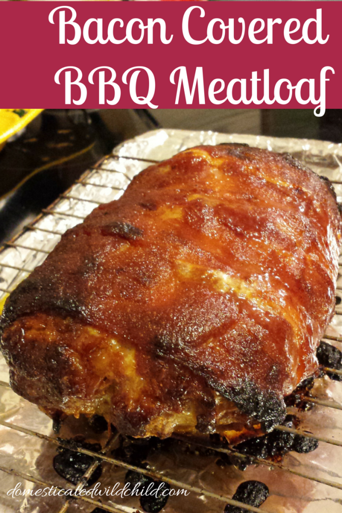 Bacon Covered Bbq Meatloaf Recipe Bbq Meatloaf Easy