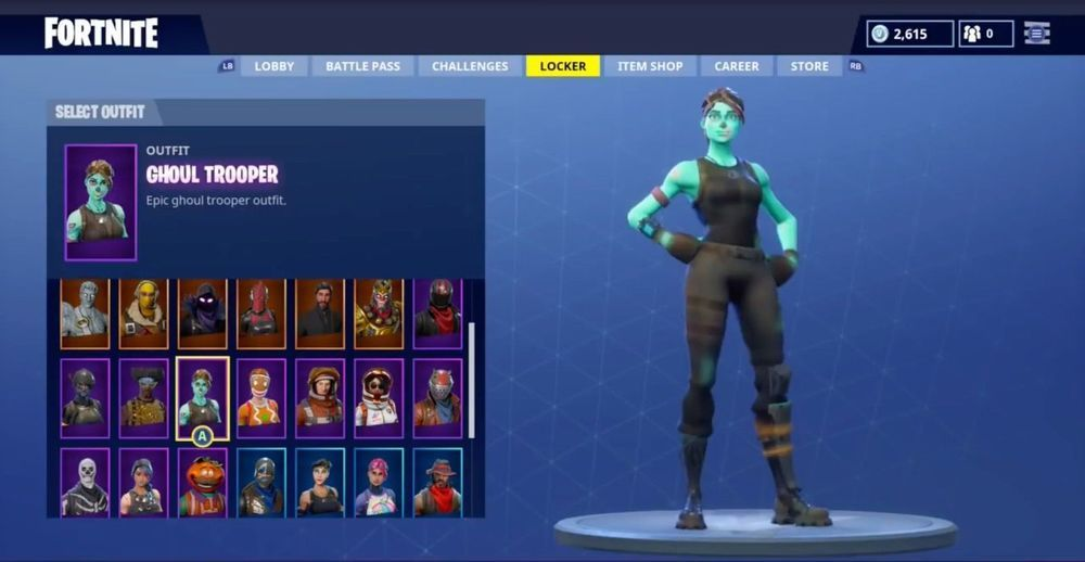 Fortnite Account Skull Trooper Ghoul Trooper Season 1 Season 2 Skins