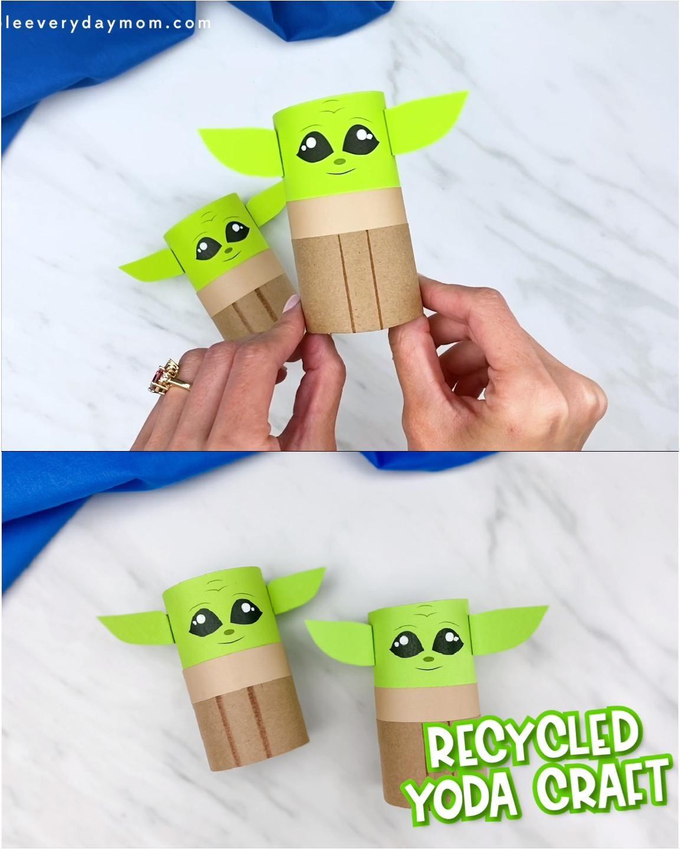 Toilet Paper Roll Baby Yoda