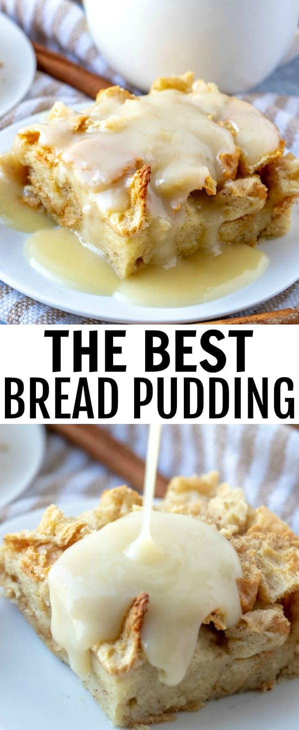 The Best Bread Pudding When it comes to easy recipes this Bread Pudding couldn't get any simpler. Filled with cinnamon and nutmeg this makes the perfect breakfast or dessert recipe.