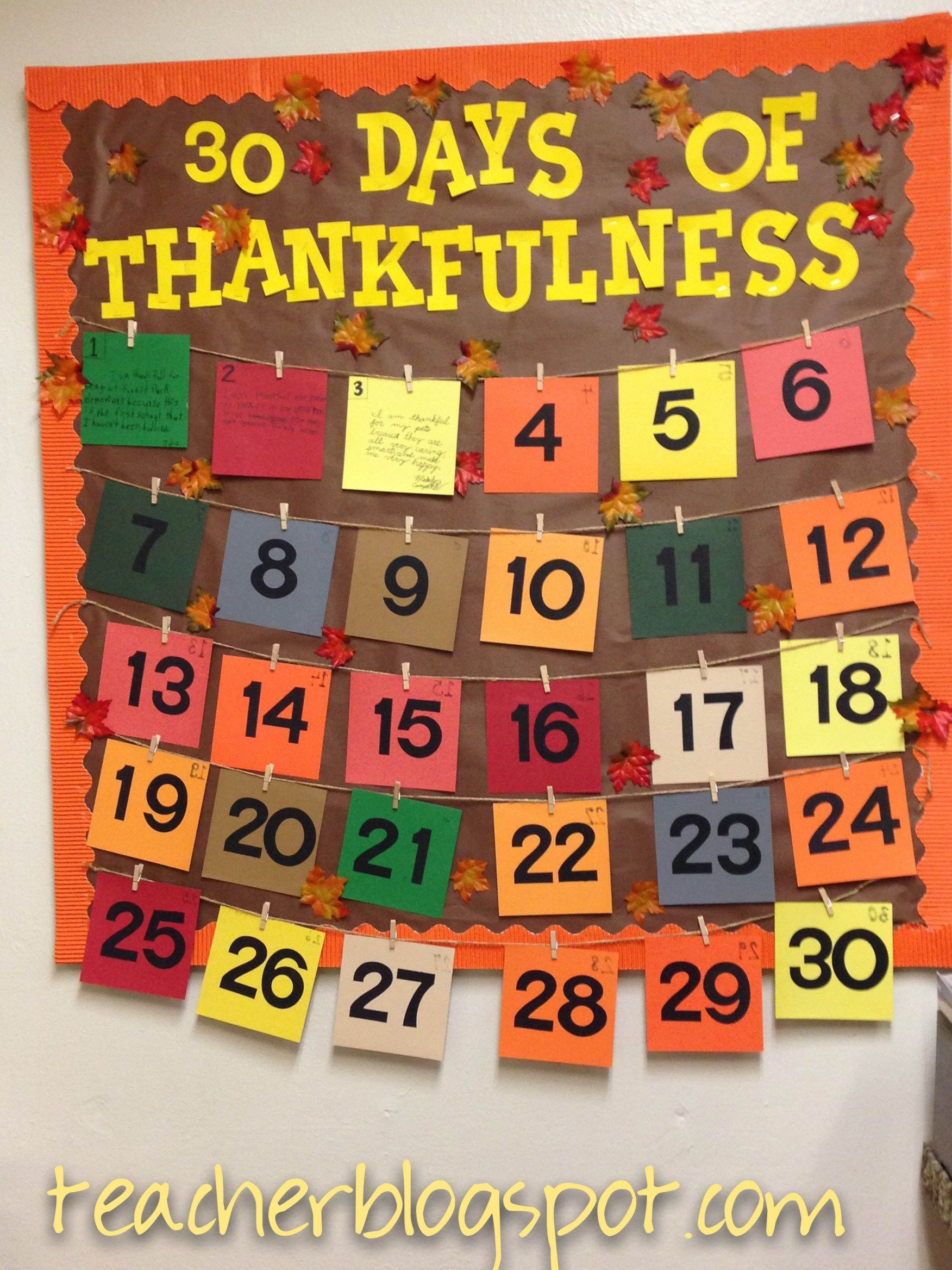 incredible Thanksgiving School Bulletin Board Ideas Part - 20: Bulletin Boards | Teacher Blog Spot More More
