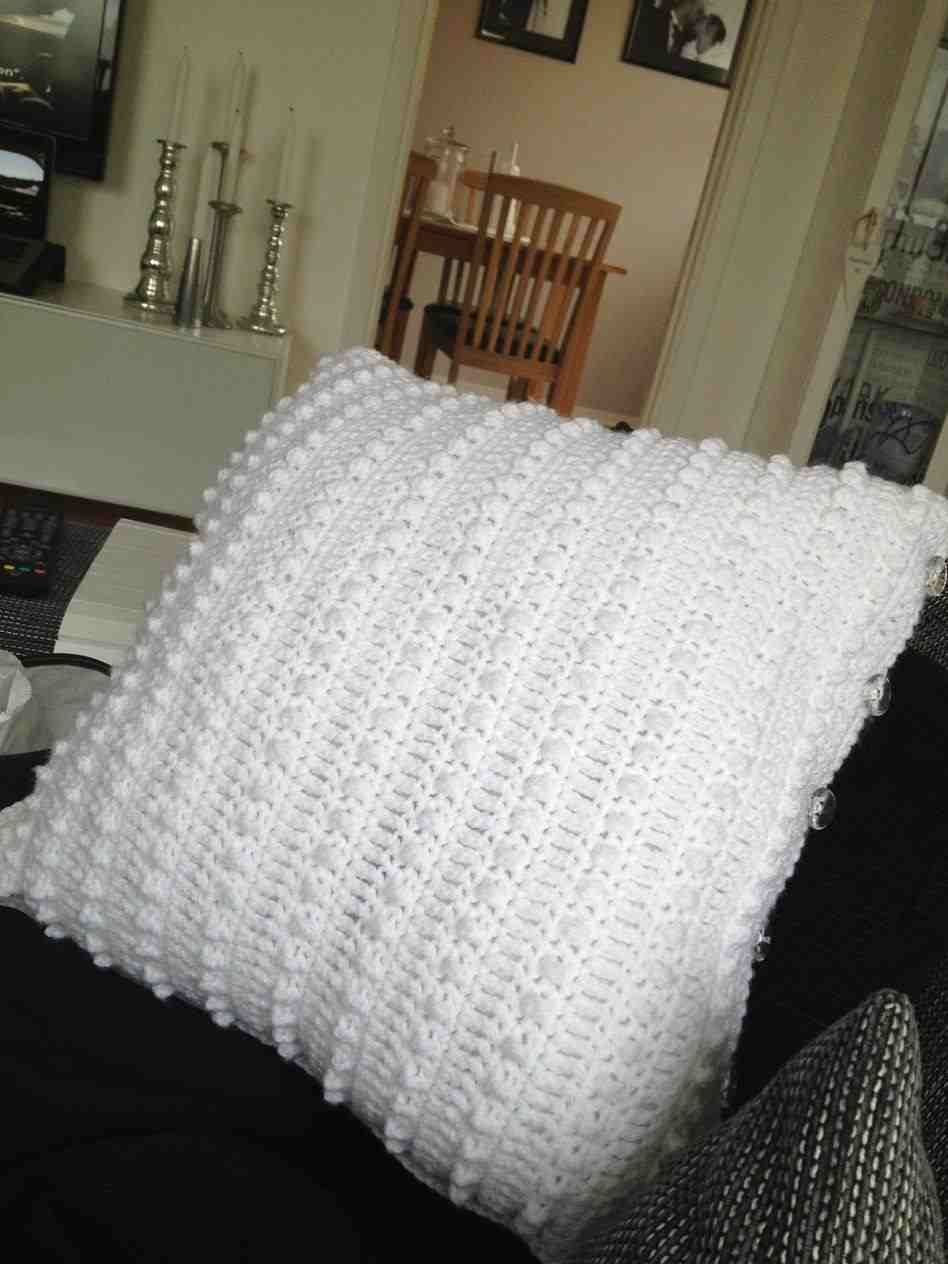 Crochet Pillow Cover Crocheted Cushion Cover Marrose Ccc