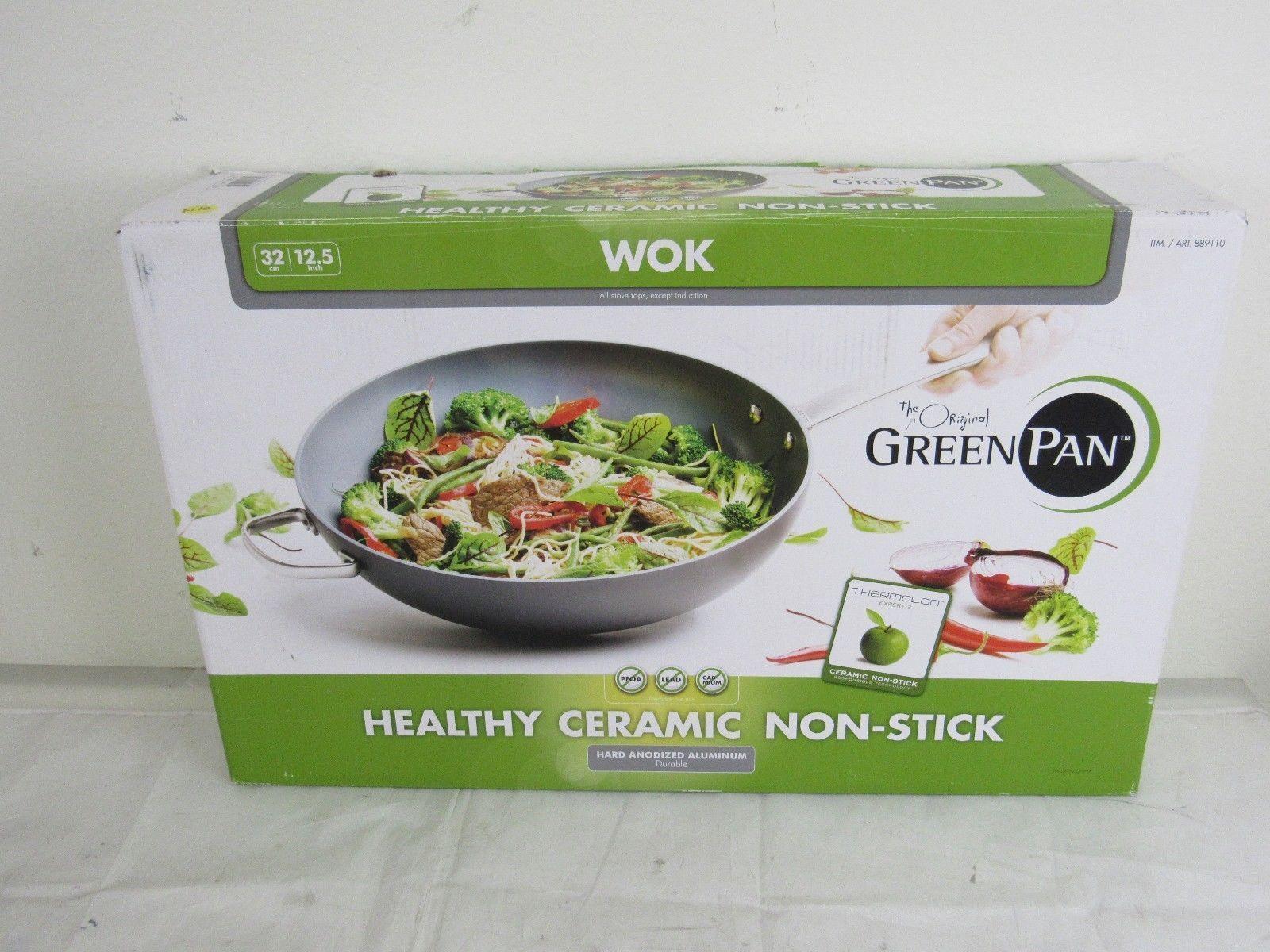 The Original Green Pan Ceramic Non-Stick Oven Safe 12.5 ...