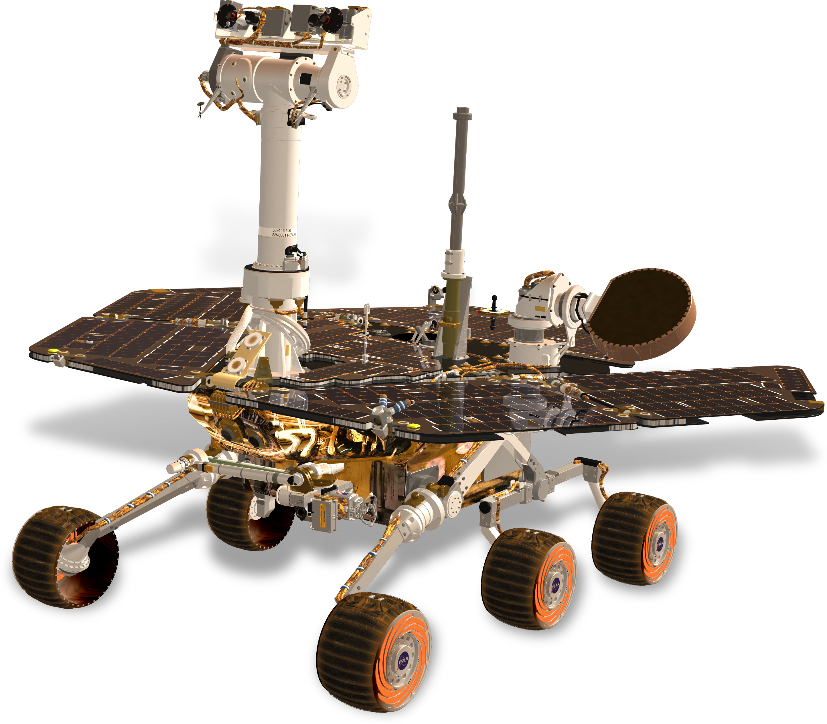 Artist's concept image of NASA's Mars Exploration Rovers ...