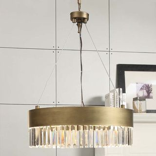 Overstock Pendant Lights Amazing Retro Glitz 6Light Gold Chandelier  Overstock™ Shopping  Great Inspiration