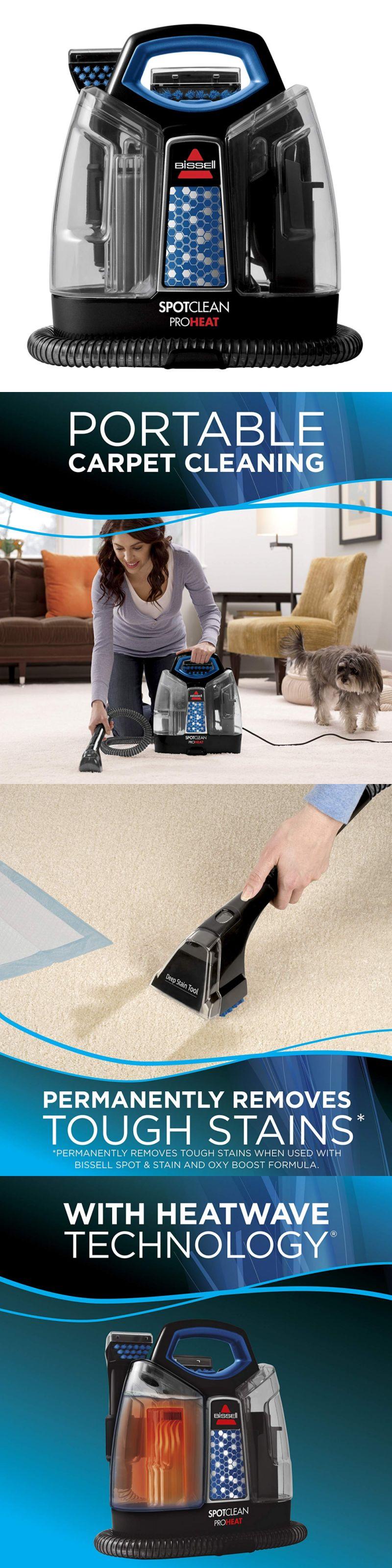 Carpet shampooers 177746 portable steam vacuum spot