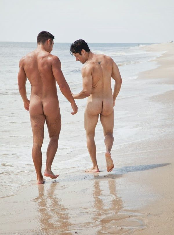 couple beach Gay nude