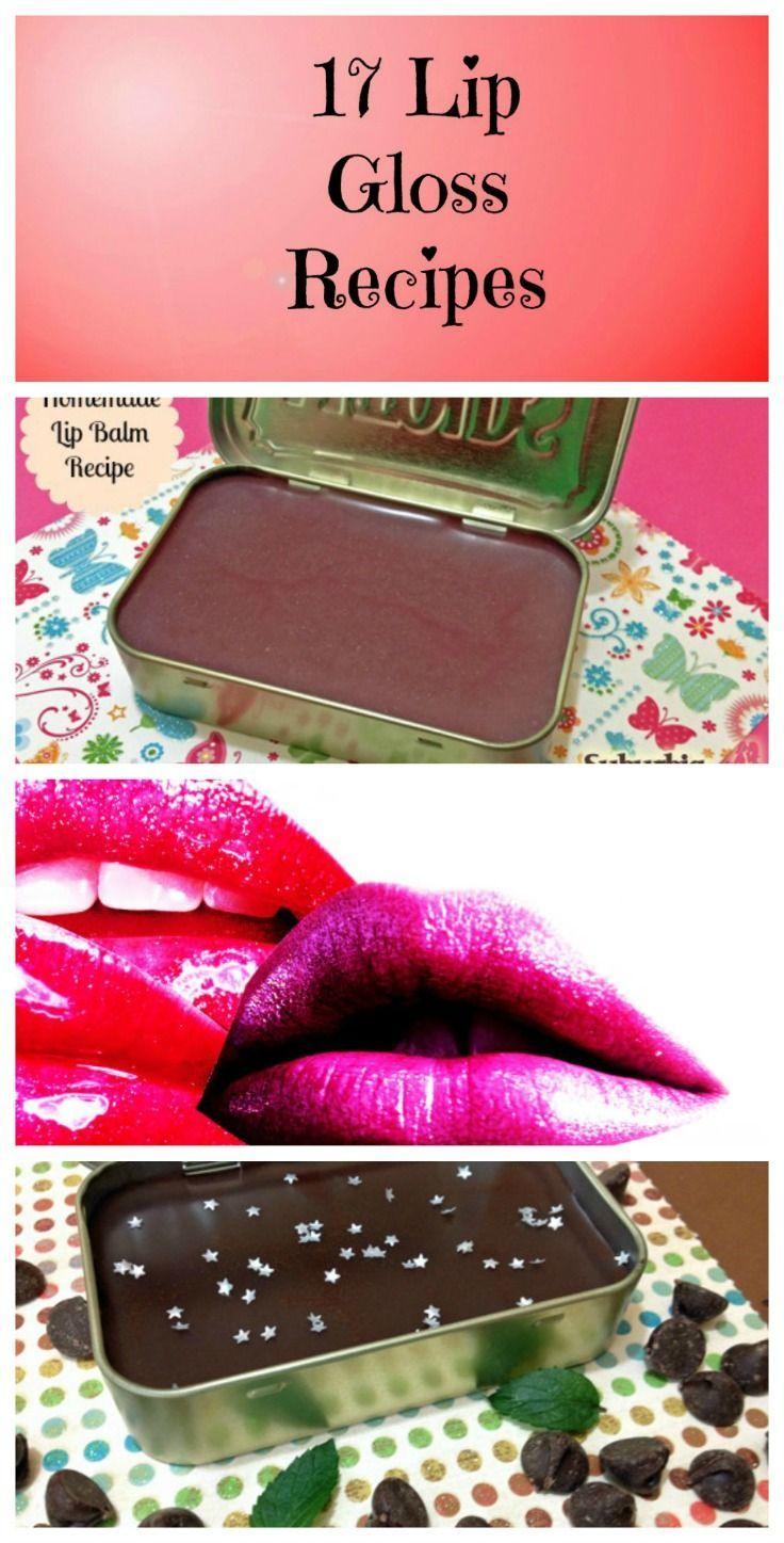 17 lip gloss recipes you can make lipgloss lip gloss