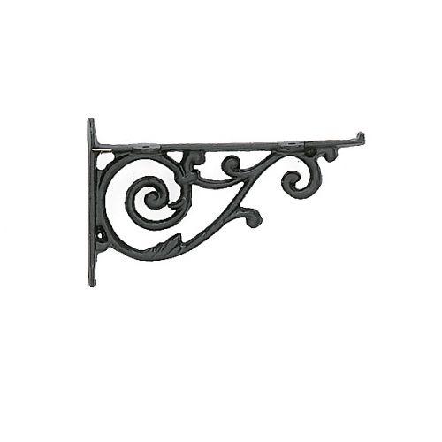 scroll decorative metal shelf brackets a smaller iron decorative bracket for making shelves - Decorative Brackets