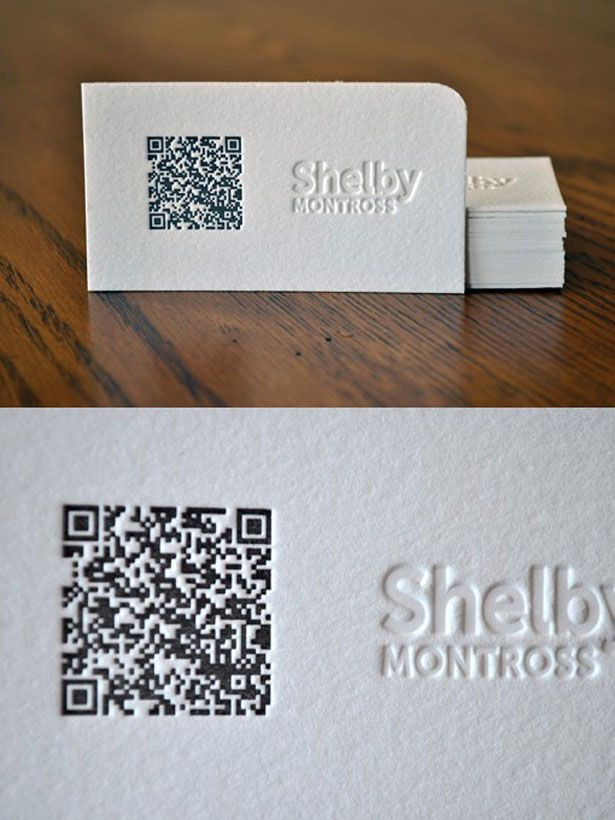30 Creative QR code business cards | Qr codes, Business cards and ...