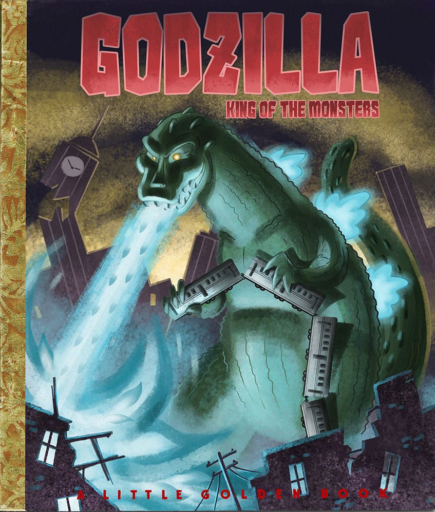 A Little Golden Book: Godzilla - Tom McWeeney
